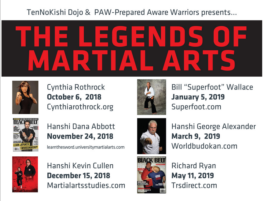 Legends of Martial Arts